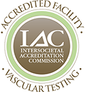IAC Accredited Facility for Vascular Testing