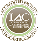 IAC Accredited Facility for Echocardiography
