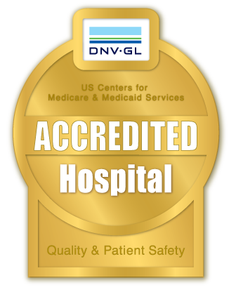 DNV-GL Accredited Hospital for Quality and Patient Safety