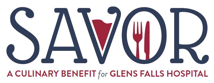 SAVOR benefit for Glens Falls Hospital logo