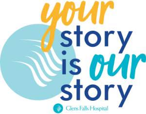 Your story is our story logo - glens falls hospital