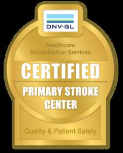 stroke accreditation medallion
